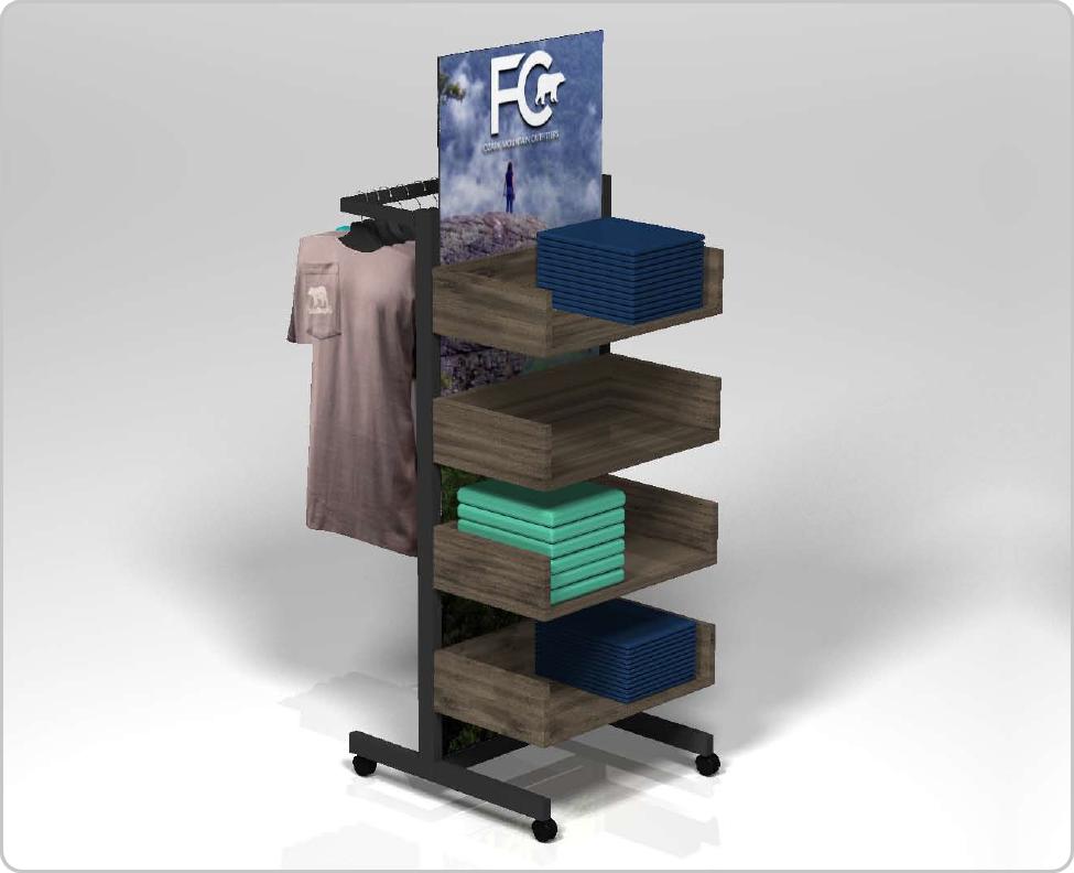 floorstanding merchandiser
