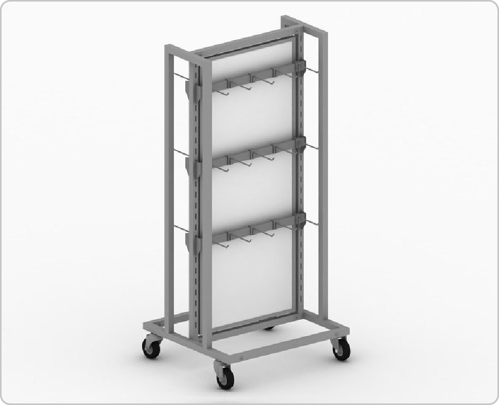 2-Way Freestanding Display