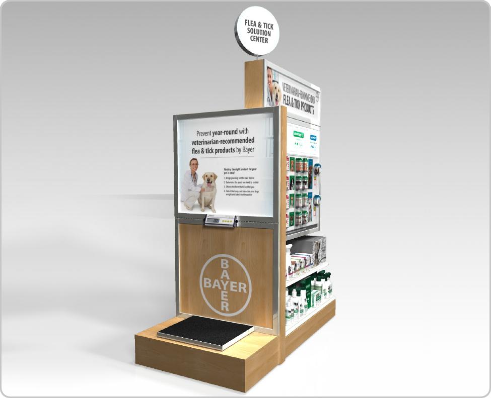 retail endcap display