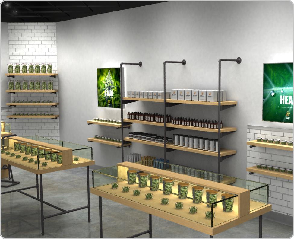 cannabis dispensary design