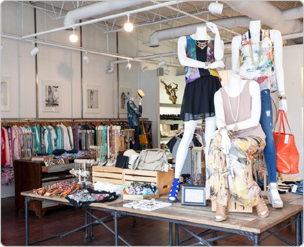 boutique retail layout