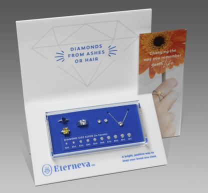 Eterneva Diamond Custom Retail Display