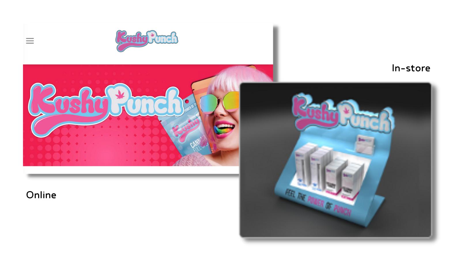 Kushy Punch Retail Display