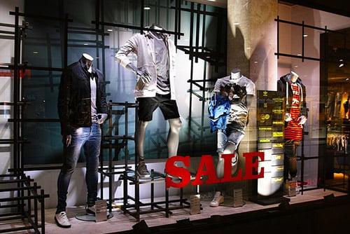 Window Merchandise Display