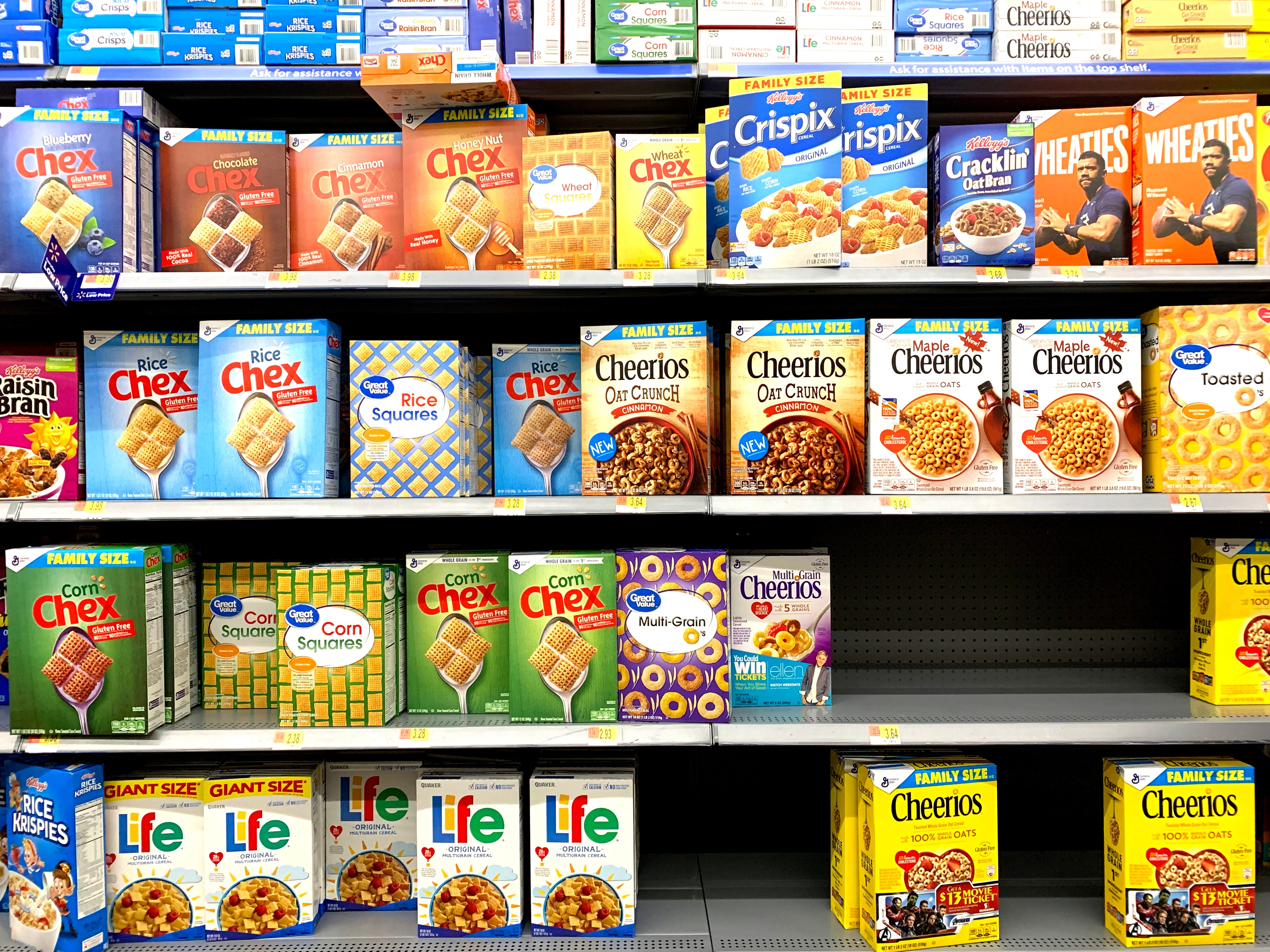 image of cereal aisle