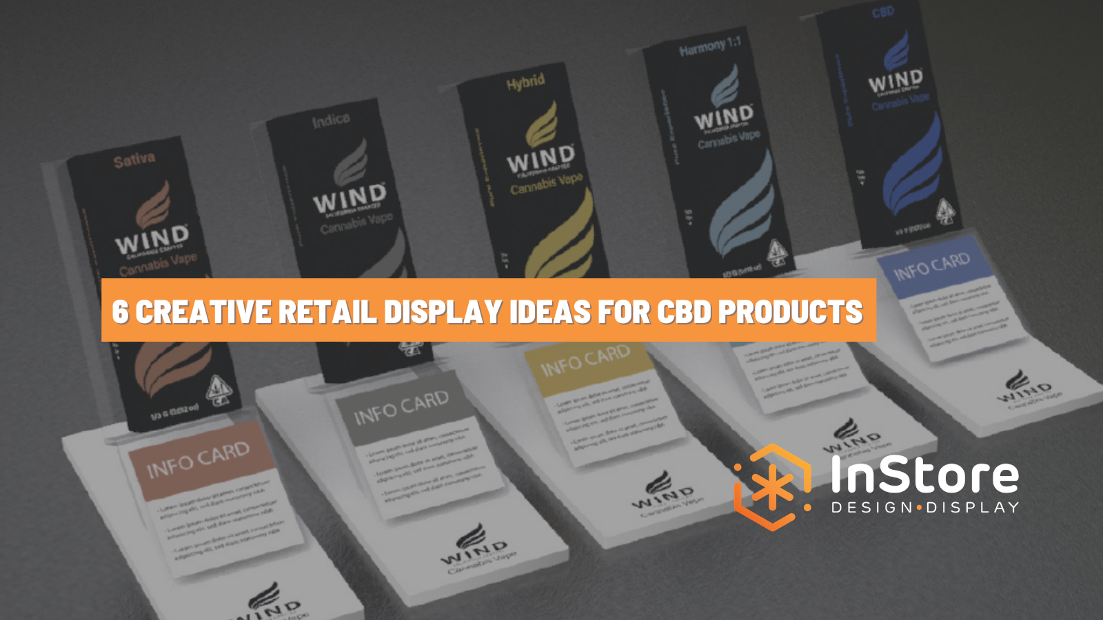 6 Creative Retail Display Ideas for CBD Products