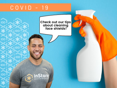 How to Clean Personal Protective Equipment (PPE): Face Shields