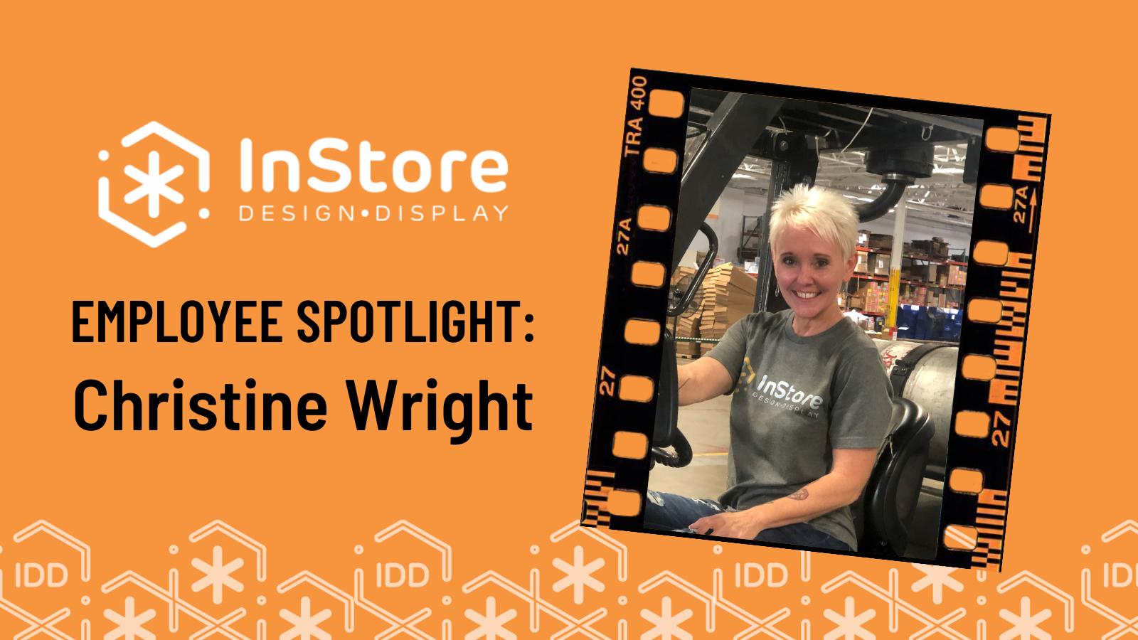 IDD Team Member Spotlight: Christine Wright