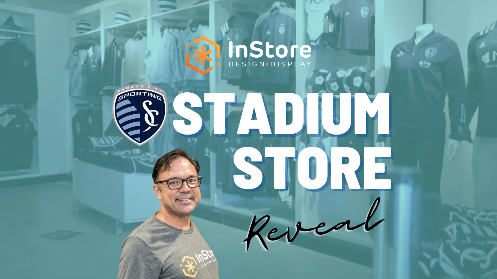Retail Store Design Spotlight: Sporting KC Stadium Store