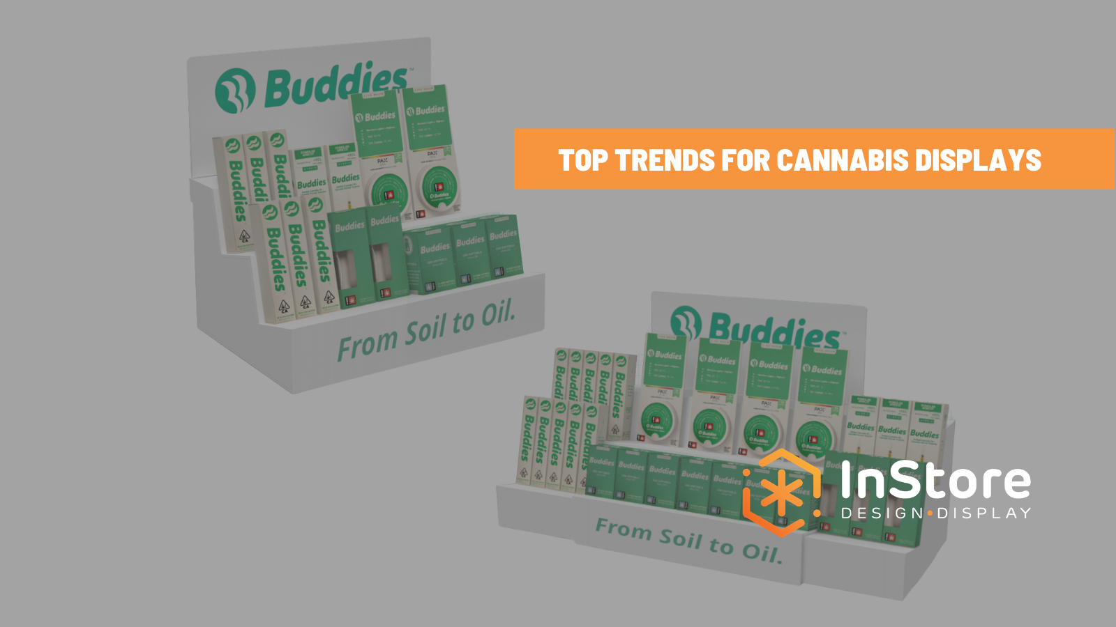 Top Retail Display Trends for Cannabis Vapes & Carts