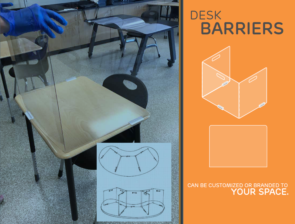 How to Clean Personal Protective Equipment (PPE): Acrylic Barriers