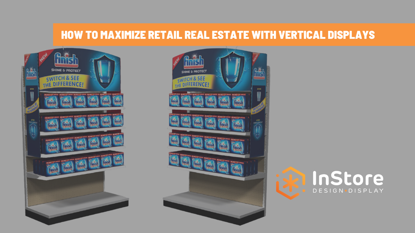 Get a Vertical Advantage: 3 Retail Display Examples that Work
